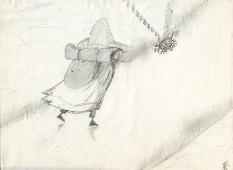 Snufkin, travelling by TranquilCat