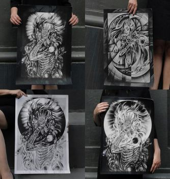 Dark Art Prints by Ddeserted