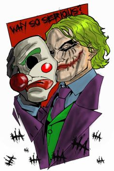 The Joker by Guiding-Light-HM