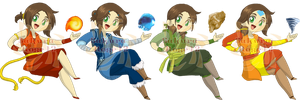 Avatar Nation ID's by Sakura-Rose12