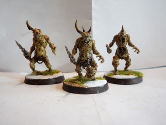 Plaguebearers of Nurgle by Dible