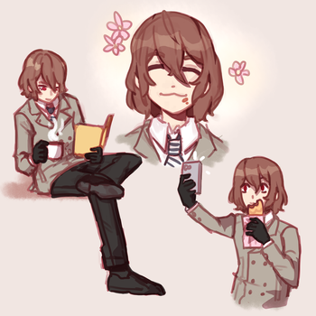 goro doodles by remmie19