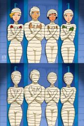 Totally Spies - 4 Mummies finished by mummiesnstuff