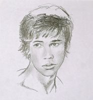 Pencil sketch: Portrait of a Boy by Denish-C