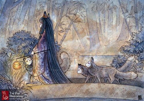 Silent Crossing by TeaKitsune