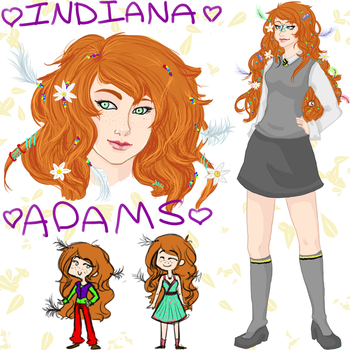 Indiana Adams by Rosey337