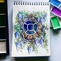 Instaart - Window and flowers by Candra