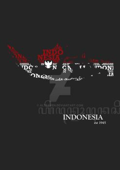Indonesia, est 1945 by Alteaven