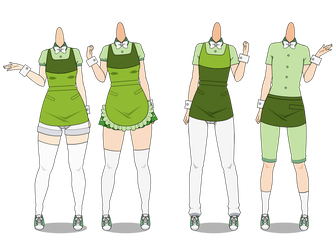 || Kise-Cafe Uniforms by Mother-Nightingale