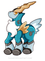 Cobalion by Tsiomi