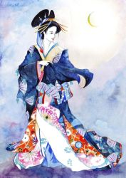 Oiran by atomic-cocktail