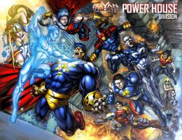 BK: POWER HOUSE DIVISION GN by gammaknight