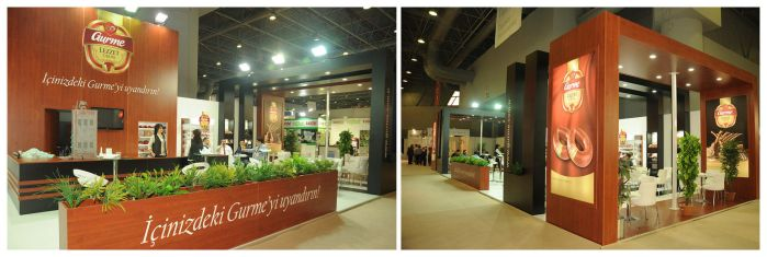 Gurme Exhibition Stand Design Photo by GriofisMimarlik