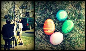 egg hunt. by xxtwopaperosesxx