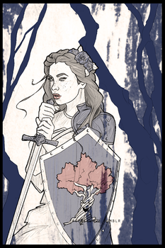 Lyanna and the Laughing Tree by ruebella-b