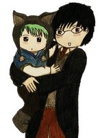 Harry and Teddy by GoldenPhoenix75