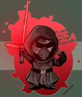 I can show you the cuteness of the Dark Side! by magggg