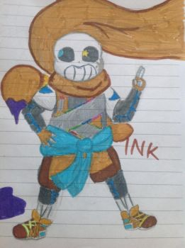 Ink sans! by Temmious