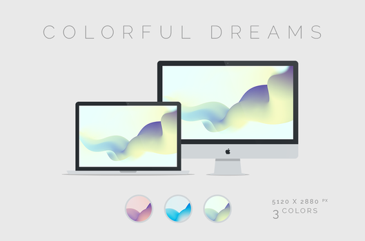 Colorful Dreams Wallpaper 5120x2880px by dpcdpc11