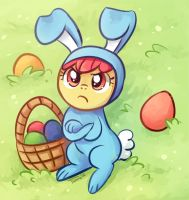 happy easter from apple bloom! by tsurime