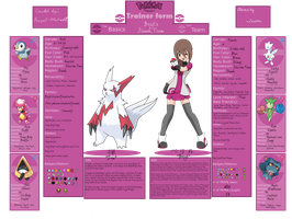 Pokemon Trainer Sheet