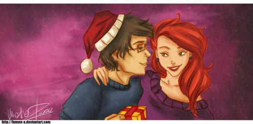 All I want for Christmas by lumen-a