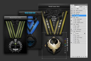 Medal and Awards Creation Kit by Nulumia