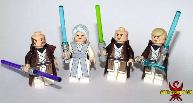 LEGO Star Wars KOTOR2 Jedi Council by Saber-Scorpion