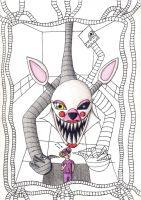 Mangle and Dan by viviangelordevil