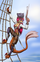 Pirate Rae by Zedrin