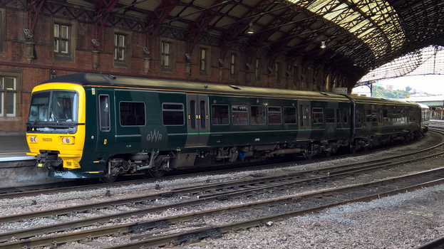 GWR class 166 166208 by thinskin45