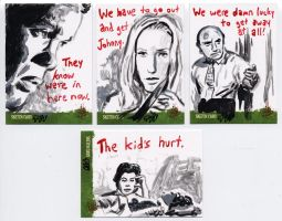 Night of the Living Dead sketch cards 5 by tdastick