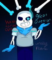 Underswap Sans by UnityFlare