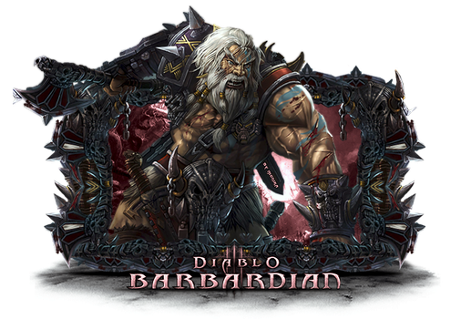 Diablo Barbardian by MonikaC