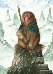 Simian the Sage by NatasaIlincic