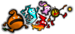 Pac-Man Monsters by AshumBesher