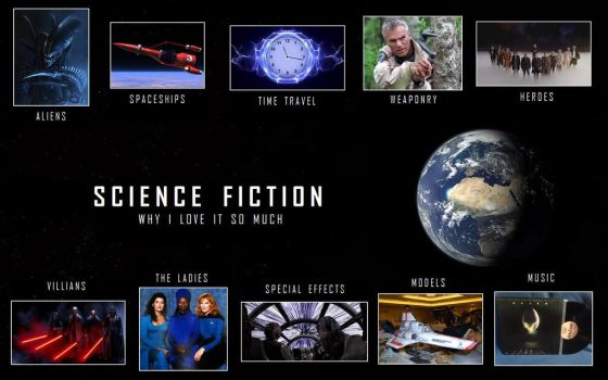 Science Fiction - Why I love it so much by DoctorWhoOne