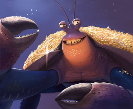 Tamatoa by Skal-Men