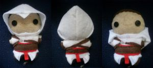 Another Altair Plushie by CheesyHipster