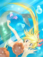 Mermaid- Yellow by hoc-doe