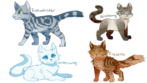 Some Cats by CATERPlE