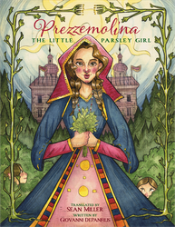Prezzemolina: The Little Parsley Girl - Book Cover by leedawnillustration
