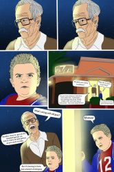Bad Grandpa 1 comic page by SerisaBibi