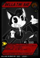 PBVTCG - BatMP - 005 - Bella the Bat by PlayboyVampire
