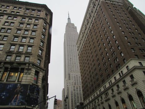 The Empire State Building by Roman-Santos