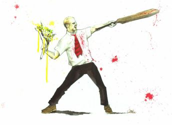 SHAUN OF THE DEAD by lora-zombie