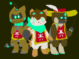 The Three Musketeers- Contest Entry by FictiveFeline