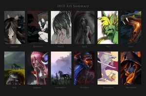 2015 Summary of Art by Konveekou