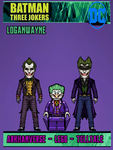 The mobius chair said there are THREE JOKERS #2 by LoganWaynee