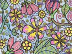 Flower Pattern by WiccaSmurf